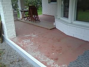 terrassi plaatimine